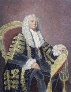 Earl of Hardwicke (Restrike Etching) by Anonymous