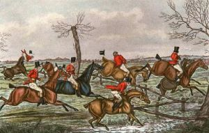 Slap Brook (Restrike Etching) by Henry Alken