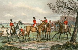 Appointment (Restrike Etching) by Henry Alken