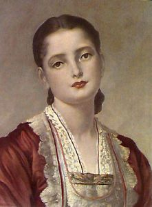 Anita (Restrike Etching) by Lord Frederic Leighton