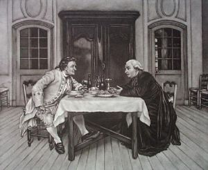 Cures Wine, The (Restrike Etching) by Anonymous