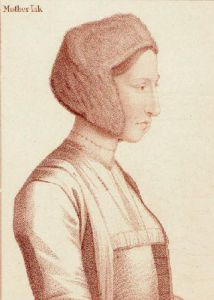 Mother Jack (Restrike Etching) by Hans Holbein The Younger