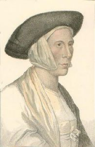 Holbein Heads (Restrike Etching) by Hans Holbein The Younger