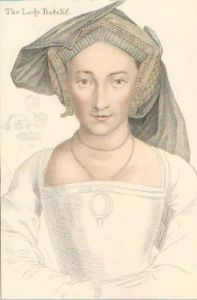 Lady Ratclif (Restrike Etching) by Hans Holbein The Younger