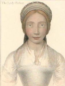 Parker (Restrike Etching) by Hans Holbein The Younger