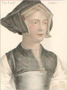 Lister (Restrike Etching) by Hans Holbein The Younger