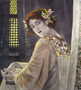 Lily of Trebizon (Restrike Etching) by Anonymous