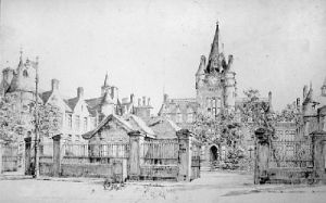 Edinburgh Infirmary Surgical Hall (Restrike Etching) by Anonymous