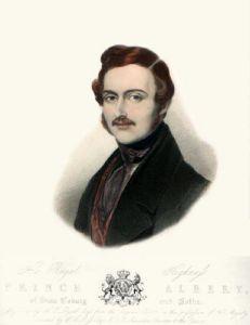 Prince Albert (Restrike Etching) by Sir William Charles Ross