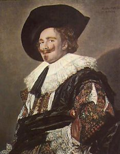 Laughing Cavalier (Restrike Etching) by Frans Hals