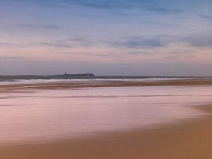 Northumberland coast line by Assaf Frank