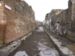 Pompei Italy by Assaf Frank