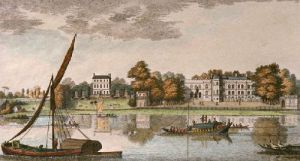 View of the Earl of Radnor's House (Restrike Etching) by Heckell
