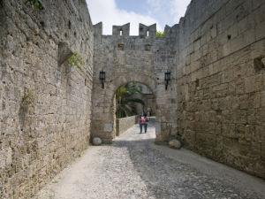 Castle entrance, Greek Isle Rhodes by Assaf Frank