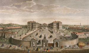 Foundling Hospital (Restrike Etching) by Anonymous