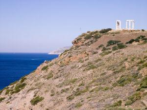 Temple of Poseidon, Greece by Assaf Frank