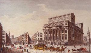 Lord Mayor's Mansion House (Restrike Etching) by Anonymous