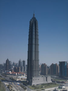 Jinmao tower, Shanghai by Assaf Frank