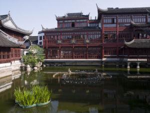 Pond, Yu Garden, Shanghai by Assaf Frank