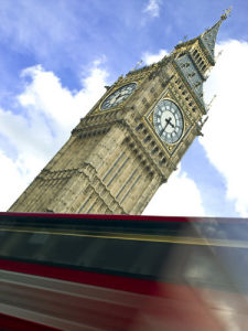 Big Ben London Bus by Assaf Frank