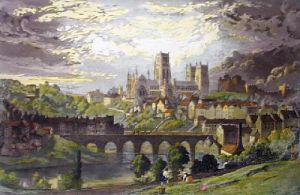 Durham (Restrike Etching) by Anonymous