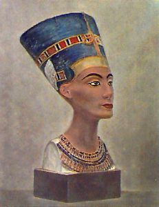 Queen Nefertiti (Restrike Etching) by Anonymous