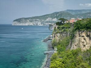 Town on the hillside, Marina Grande, Sorrento, Naples, Campania, Italy by Assaf Frank