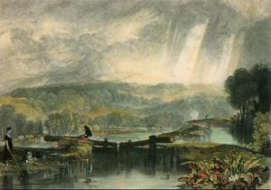 More Park (Restrike Etching) by Joseph Mallord William Turner