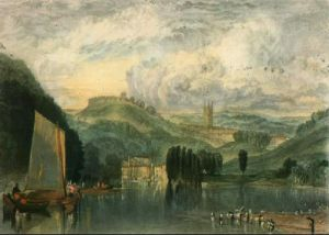 Totness on the River Dart (Restrike Etching) by Joseph Mallord William Turner
