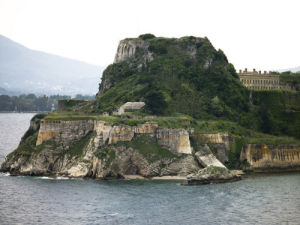 Corfu fortress, old city, Greece by Assaf Frank