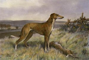 H S One (Restrike Etching) by Arthur Wardle