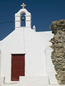 Church, Mykonos, Greece by Assaf Frank