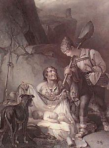 The Finding of Perdita (Restrike Etching) by Henry Thomson