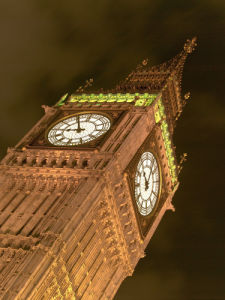 The big ben at night by Assaf Frank