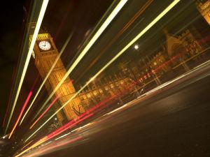Big ben strip lights by Assaf Frank