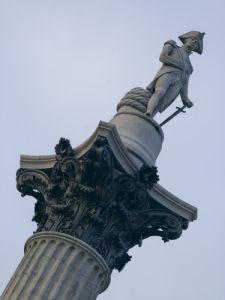 Nelson Column Trafalgar Square by Assaf Frank