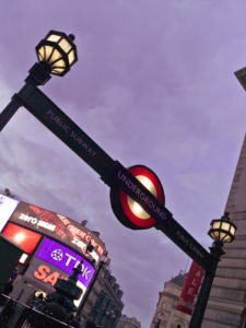 Piccadilly Circus at Night 3 by Assaf Frank