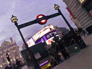 Piccadilly Circus at Night 4 by Assaf Frank