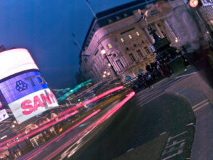 Piccadilly Circus at Night 5 by Assaf Frank