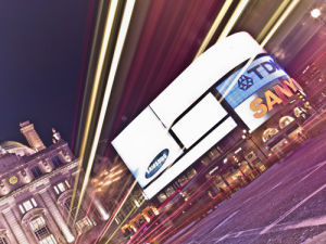 Piccadilly Circus at Night 6 by Assaf Frank
