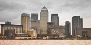 Canary Wharf London Financial Centre by Assaf Frank