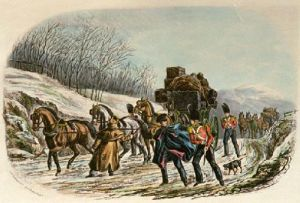 Baggage Guard, The (Restrike Etching) by Charles Newhouse