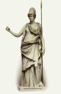 Statue - Pl. XXXVIII (Restrike Etching) by Edward Henry Corbould