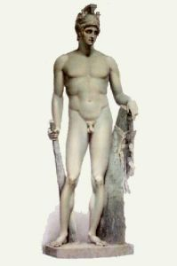 Statue - Pl. XIX (Restrike Etching) by Edward Henry Corbould