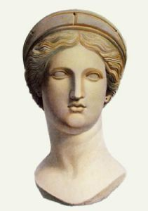Marble Bust - Pl. XLII (Restrike Etching) by Anonymous