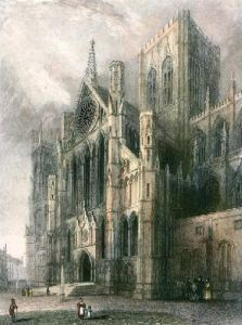 York Minster (Restrike Etching) by Anonymous