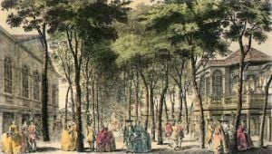Marylebone Gardens (Restrike Etching) by J. Donowell