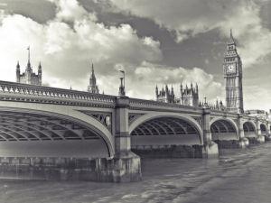 England, London, Westminster bridge by Assaf Frank