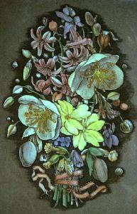 Spring Flowers (Restrike Etching) by Lawrence Josset