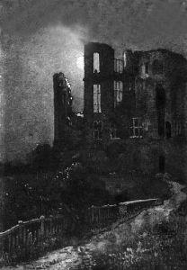 Kenilworth Castle (Restrike Etching) by Fabian